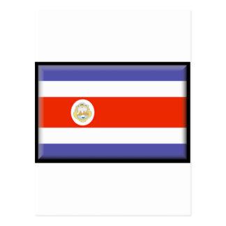 Bandeira de Costa Rica Cartoes Postais