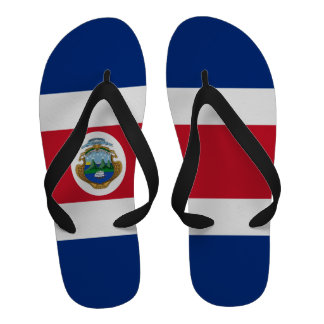 Bandeira de Costa Rica Flipflops