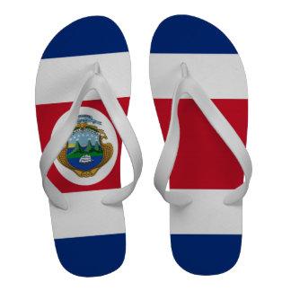 Bandeira de Costa Rica Sandália De Dedo