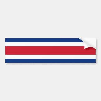 Bandeira de Costa Rica, Costa Rica Adesivo Para Carro