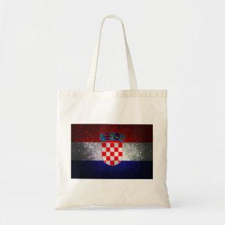 Bandeira de Croatia Bolsa Para Compras