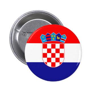 Bandeira de Croatia Botons
