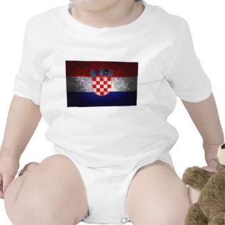 Bandeira de Croatia Camisetas