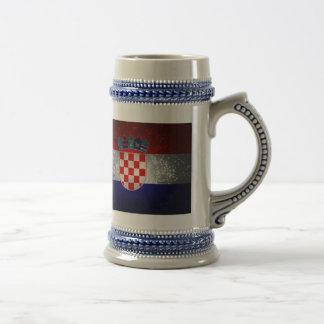 Bandeira de Croatia Canecas