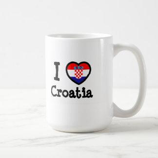 Bandeira de Croatia Caneca
