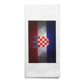 Bandeira de Croatia Guardanapos