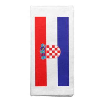 Bandeira de Croatia Guardanapo De Pano