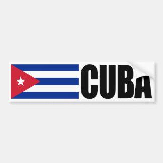Bandeira de Cuba Adesivo