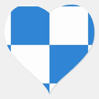 Bandeira de Dalfsen Adesivo Coração