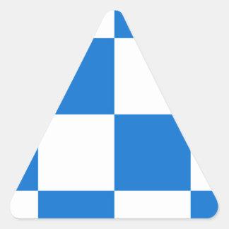 Bandeira de Dalfsen Adesivo Triangular