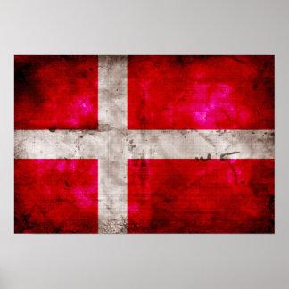Bandeira de Danmark Poster