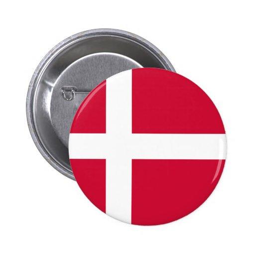 Bandeira de Dinamarca Boton