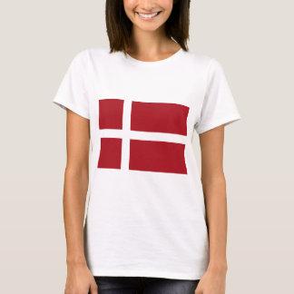 Bandeira de Dinamarca Camiseta