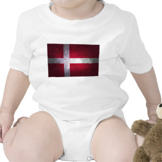 Bandeira de Dinamarca T-shirt