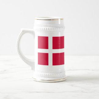 Bandeira de Dinamarca Canecas
