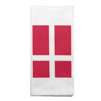 Bandeira de Dinamarca Guardanapos
