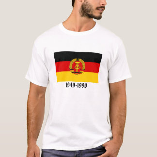 Bandeira de East Germany Camiseta