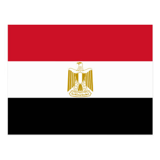 Bandeira de Egipto POR EXEMPLO Cartão Postal