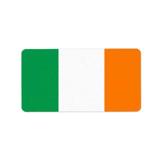 Bandeira de etiquetas de Ireland