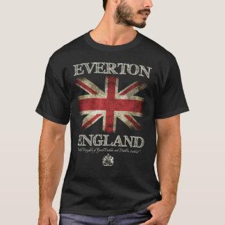 Bandeira de Everton Inglaterra Reino Unido Camiseta