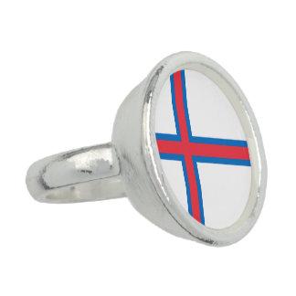 Bandeira de Faroe Island Anéis Com Imagens