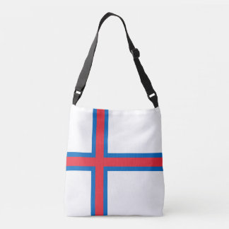 Bandeira de Faroe Island Bolsa Ajustável