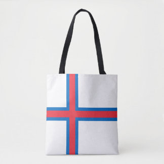 Bandeira de Faroe Island Bolsa Tote