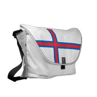 Bandeira de Faroe Island Bolsas Mensageiro
