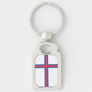 Bandeira de Faroe Island Chaveiro