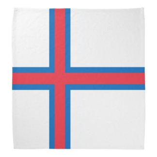 Bandeira de Faroe Island Lenço