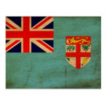Bandeira de Fiji Cartão Postal