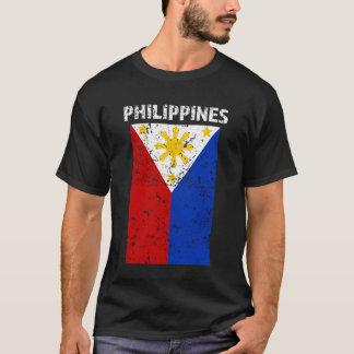 Bandeira de Filipinas - orgulho filipino - camisa