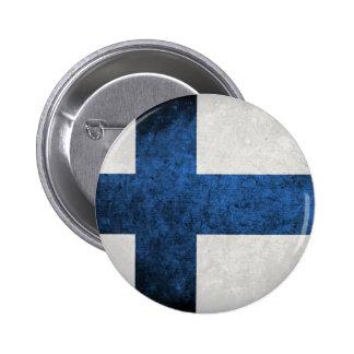 Bandeira de Finlandia Boton