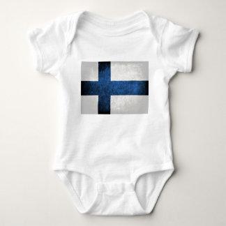 Bandeira de Finlandia T-shirt