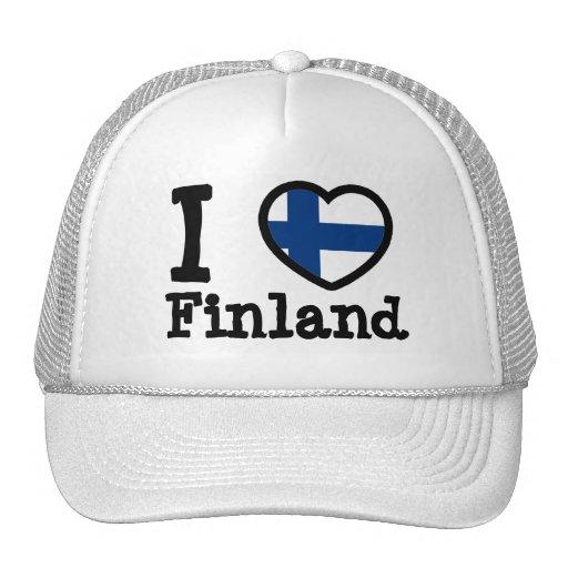 Bandeira de Finlandia Bonés