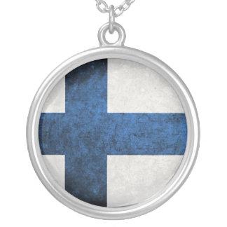 Bandeira de Finlandia Bijuteria