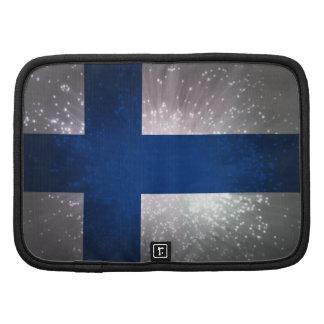 Bandeira de Finlandia Organizadores