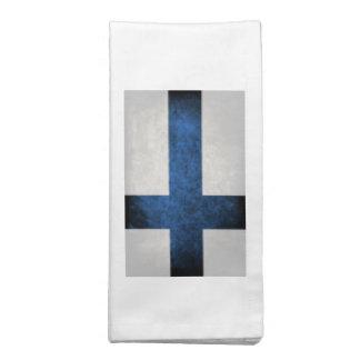 Bandeira de Finlandia Guardanapo