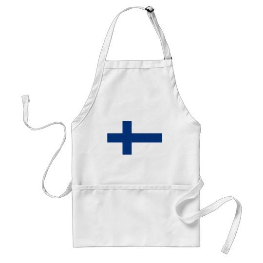 Bandeira de Finlandia (lippu de Suomen, flagga de Avental