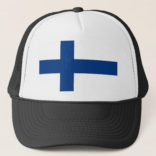 Bandeira de Finlandia (lippu de Suomen, flagga de Boné