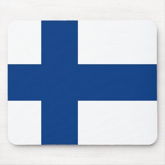 Bandeira de Finlandia (lippu de Suomen, flagga de Mouse Pad