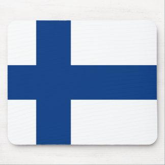 Bandeira de Finlandia Mousepad