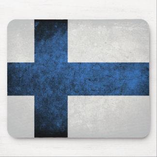Bandeira de Finlandia Mouse Pads