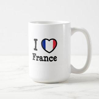 Bandeira de France Caneca