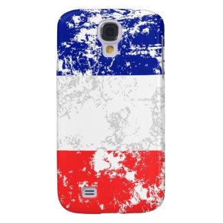Bandeira de France Capas Samsung Galaxy S4