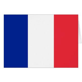 Bandeira de France Cartão De Nota