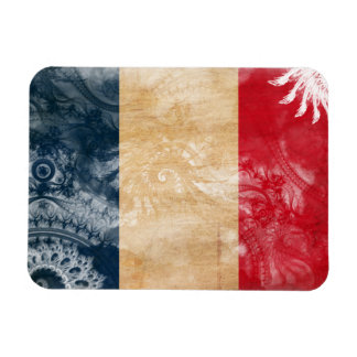 Bandeira de France Foto Com Ímã Retangular