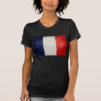 Bandeira de France; Francês; T-shirt
