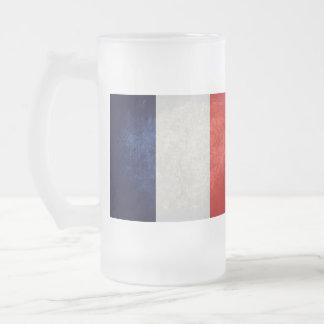 Bandeira de France Francês Caneca