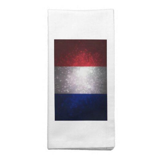 Bandeira de France Guardanapos De Pano